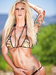 Brooke Banner Outdoor Bikini