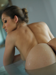A nice bath isn't the only thing Dani Daniels needs to relax