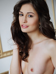 Lilian A stunning beauty, elegant allure, and slender body with amazingly pink and perky tits